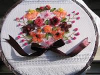 süper Çiçek Buketi Havlu
