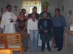 Jovenes en reunión Ecumenica.