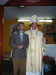 + Monseñor Victor y el Rev. P. José Manuel.