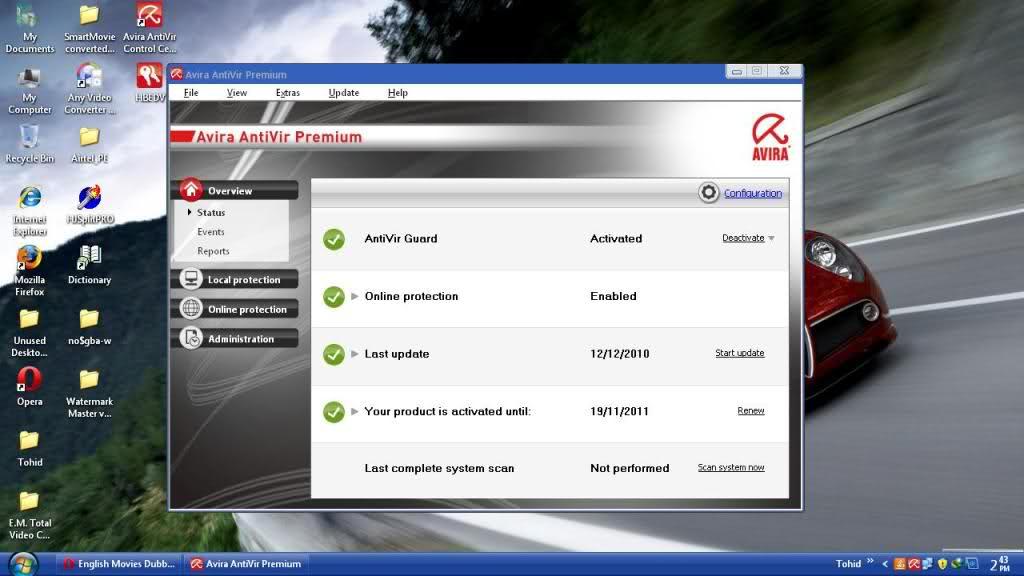download update avira 19 mei 2011