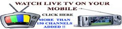 WATCH LIVE TV ON YOUR MOBILE