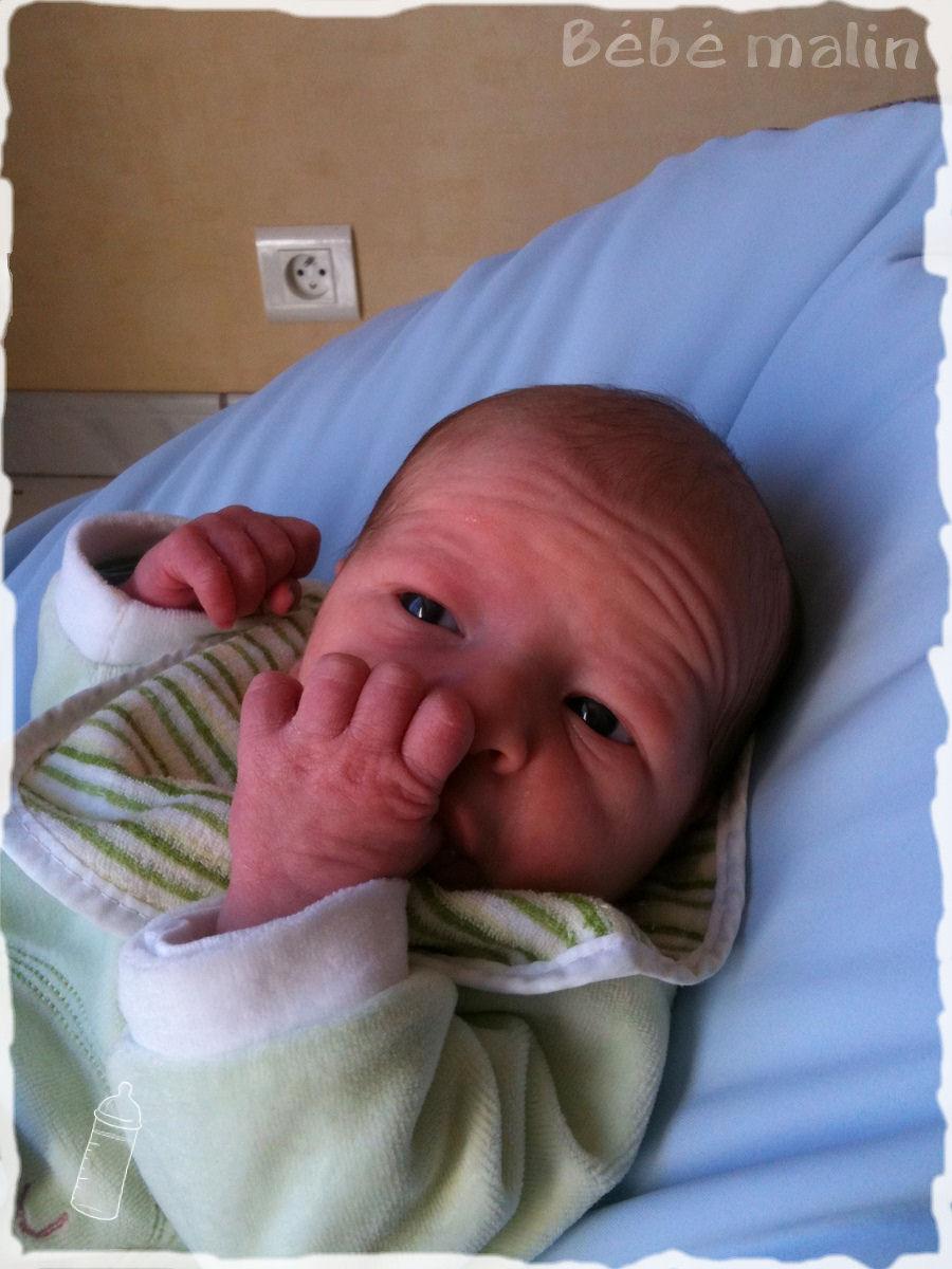 Une semaine la maison et alors le blog de b b malin - Colette gaze et son bebe ...
