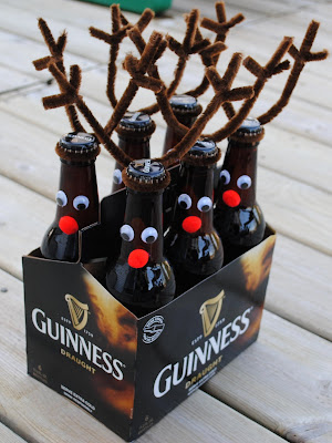 Beer Reindeer Toppers