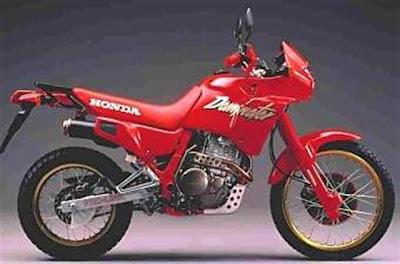 K 9 1989 Honda NX650