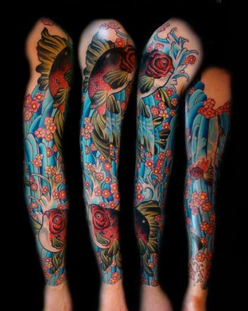 Bouglle Tattoo: Tattoo Sleeve