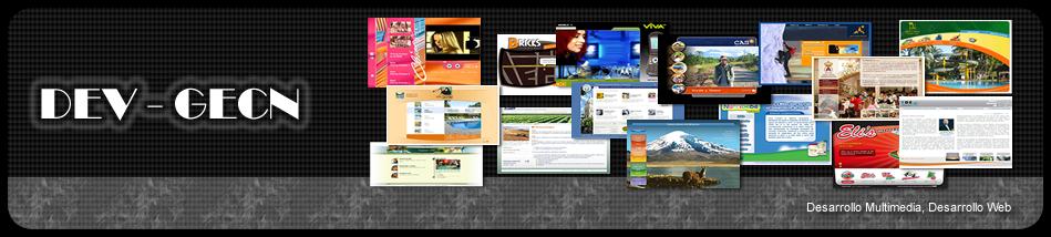 Desarrollo Web, Desarrollo Multimedia