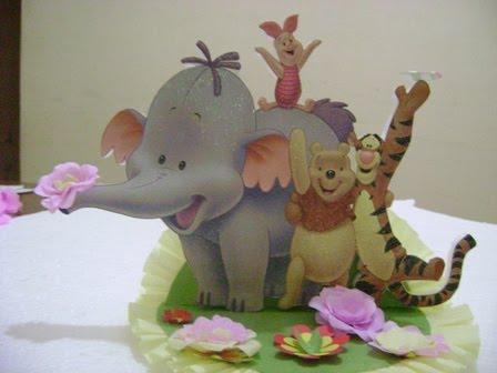 adornos para cumpleaos infantiles adorno para torta de winnie poo