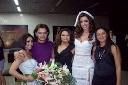 Backstage do desfile da Thais Ferreira 2009