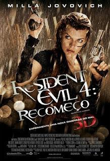 Filme Poster  Resident Evil 4 - Recomeço R5 LiNE XviD Dual Audio e RMVB Dublado