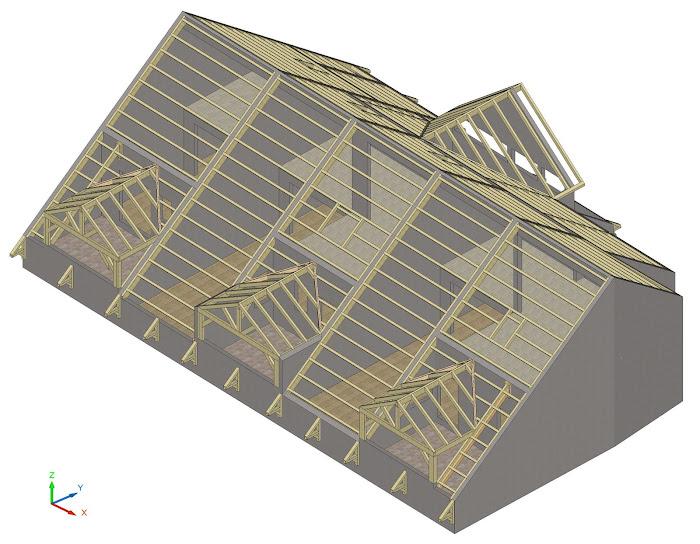 b2dsa bureau de dessin en b timent cadwork et autocad. Black Bedroom Furniture Sets. Home Design Ideas