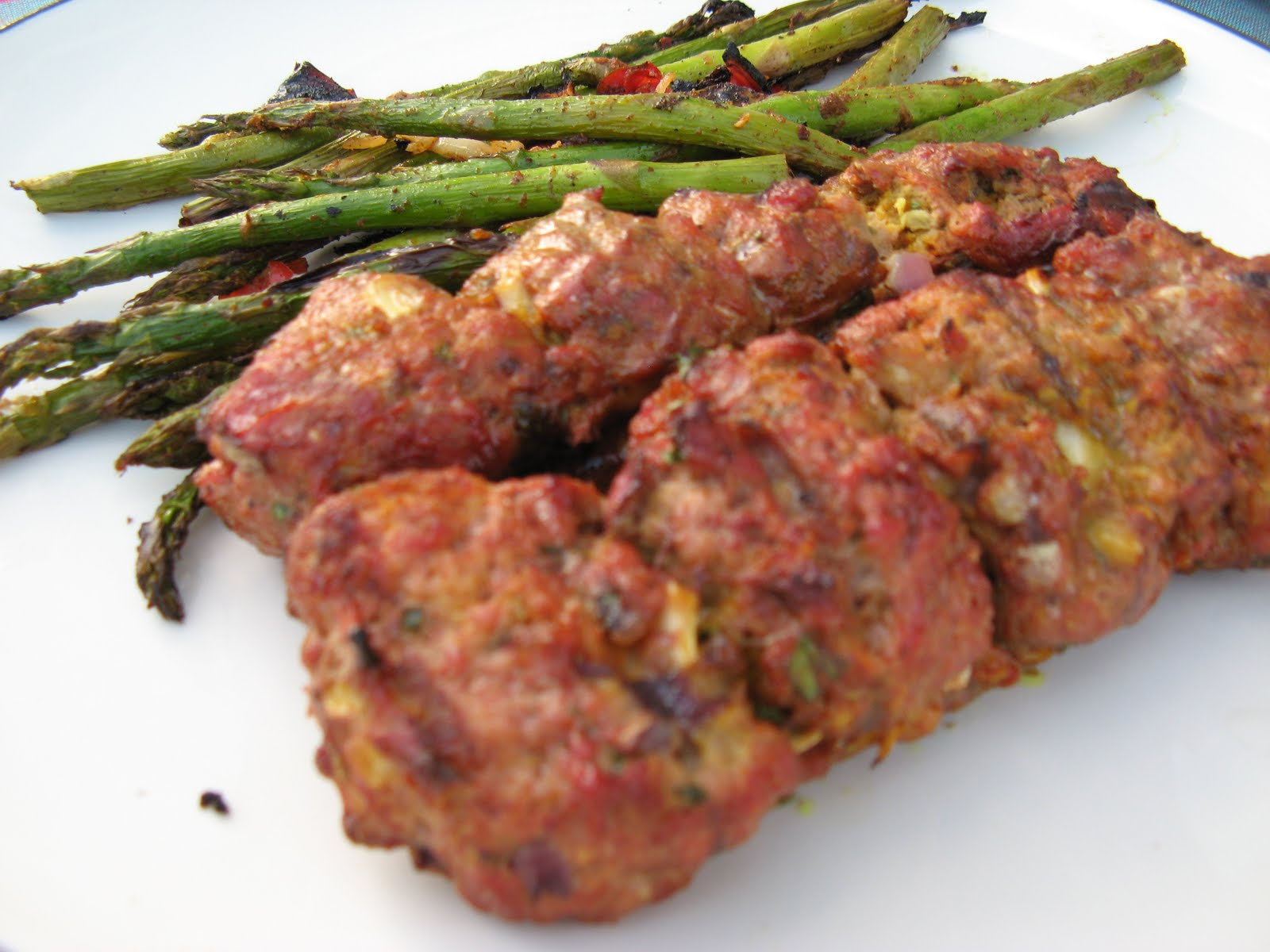 Eating Endeavors: Armenian Ground Beef Kabobs