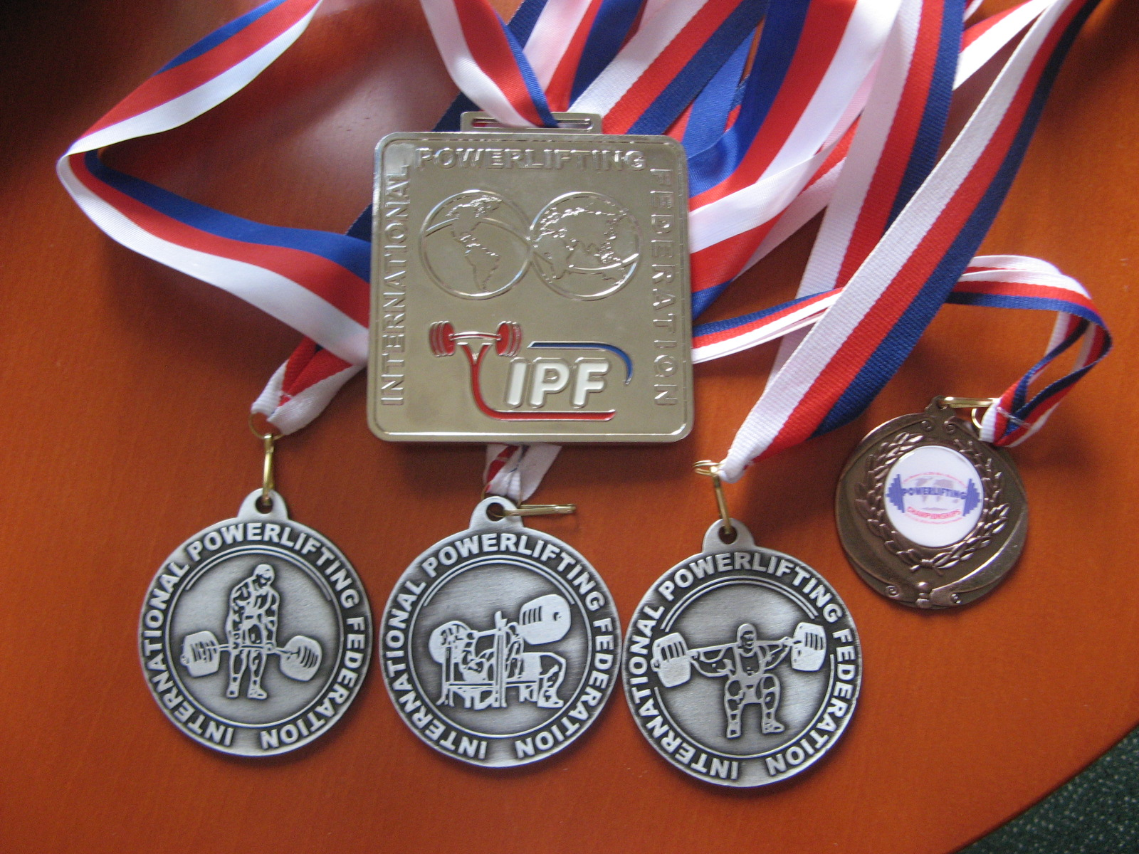 2010 IPF World Masters Silver medals