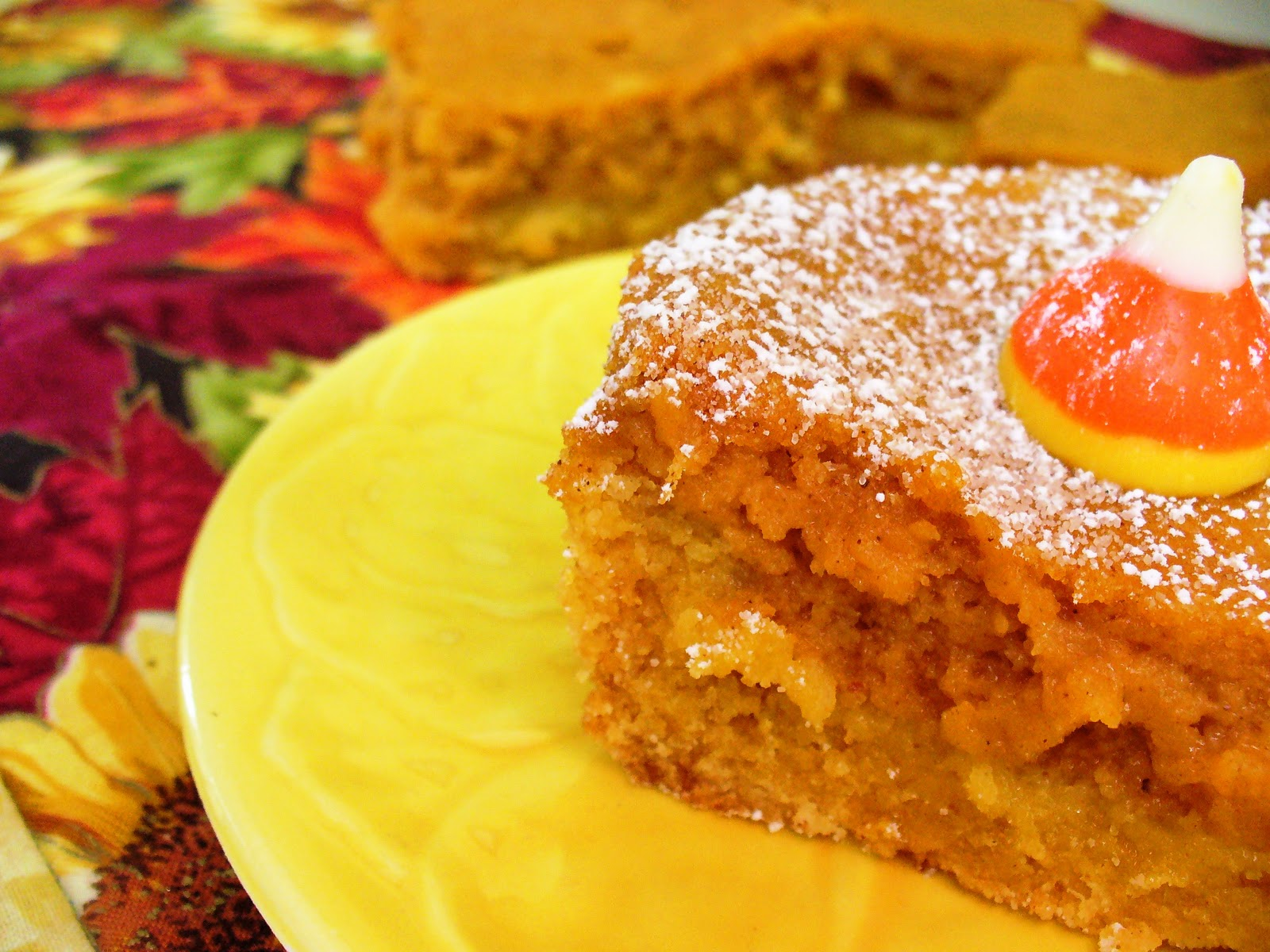 Leenee's Sweetest Delights: Pumpkin Gooey Butter Cake
