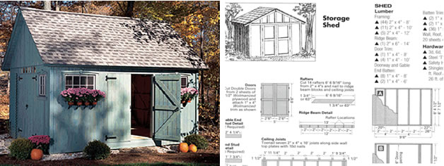 Garden Sheds Designs : Top 5 Suggestions For Getting The Best Shed Roof