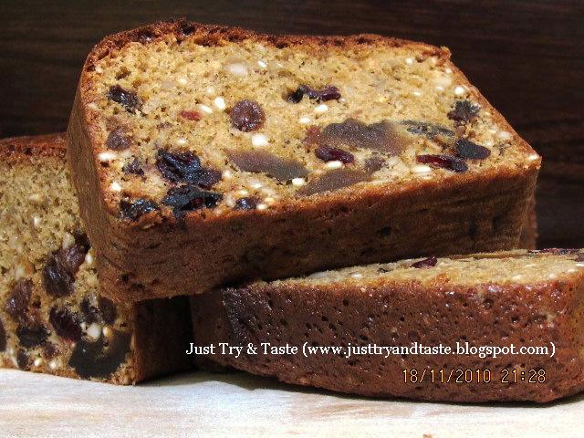 resep cake kurma kacang mete dan kismis just try amp taste