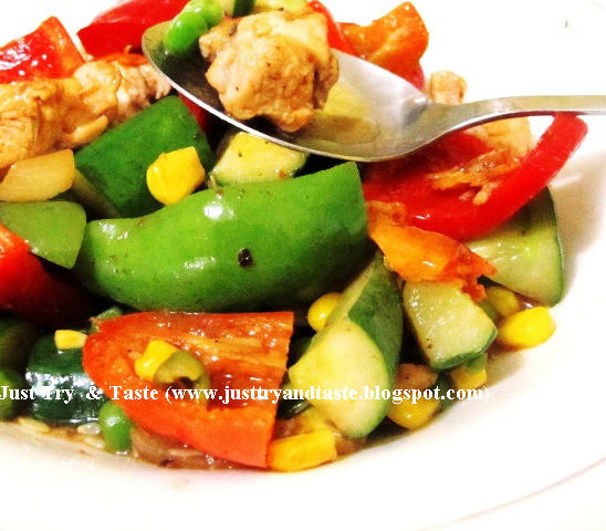 chicken breast stir fry with vegetables JTT