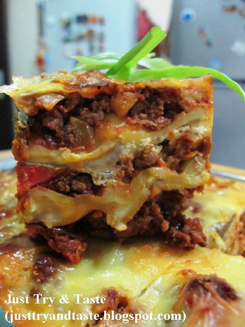 resep lasagna just try amp taste
