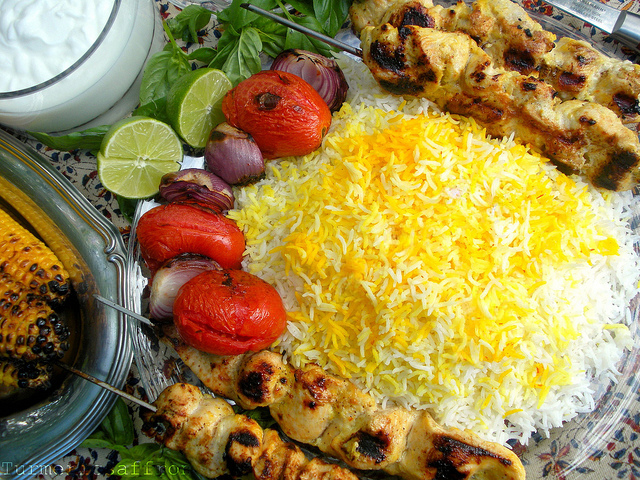 Turmeric & Saffron: Joojeh Kabab, Persian Grilled Saffron Chicken