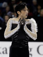 Be very afraid: Johnny Weir wants a career in fashion.
