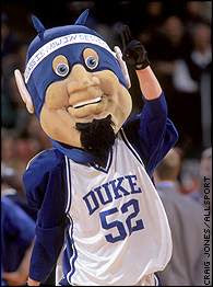 [BLEEP] YOU, MASCOT! Sympathy for the Duke Blue Devil