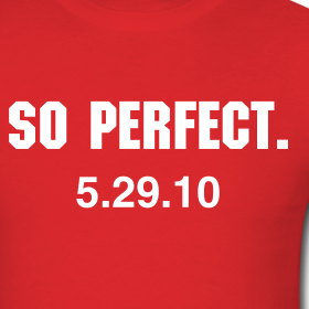 Shirts Without Random Triangles: Halladay Perfect Game shirt. Well, that was quick