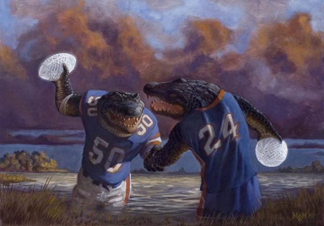 Great Moments in Bad Sports Art: