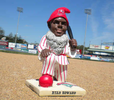 Ryan Howard lawn gnome? Ryan Howard lawn gnome.