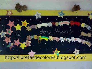 Nuestra estrella de navidad actividades infantil - Estrellas decoracion infantil ...