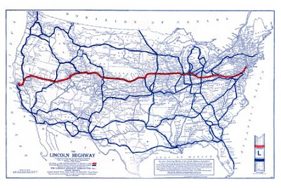 Maps Of Dallas Map Of The Week  The Lincoln Highway