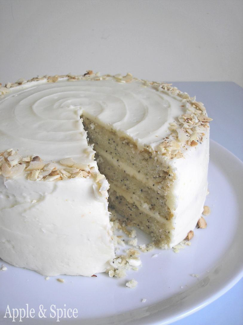 Apple & Spice: The Cake Slice May 2010: Lemon Poppy Seed Cake with ...