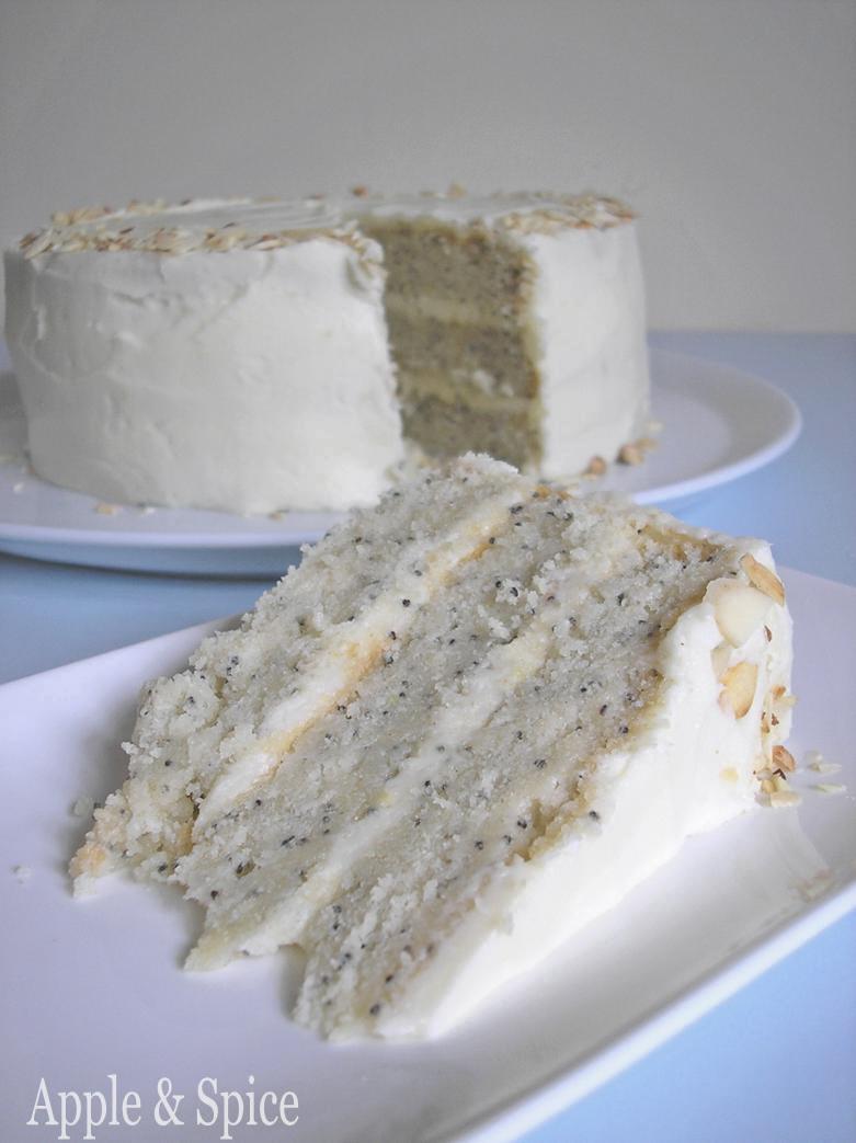 Poppy Seed Buttermilk Cake