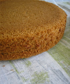 Chai Spice Cake Honey Ginger Cream