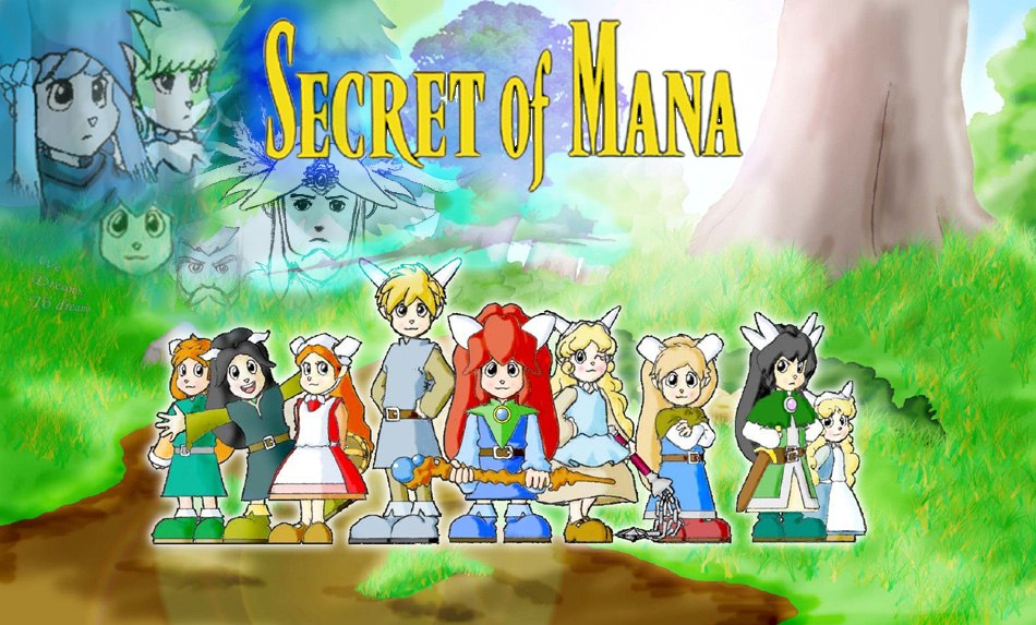 how to run in secret of mana 2