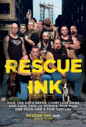 Novos protetores na TV: RESCUE INK( Guardiões de Animais)