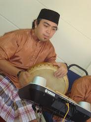 Rahman pemain Eletric Drum dan Pemain Rebana