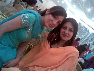 Cute Girls at Wedding Party