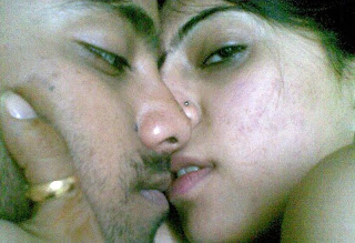 Horny Pakistani college couple kissing after hot sex session pics 5
