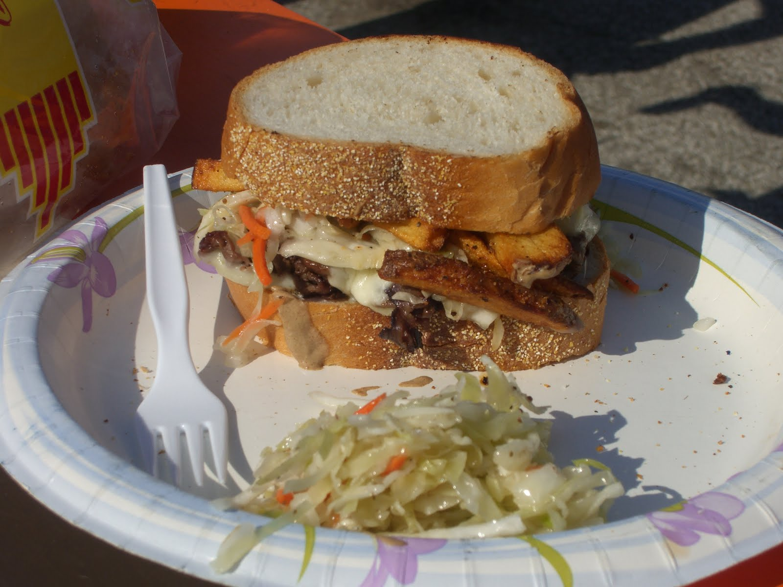 bite buff browns tailgating home made panini overstuffed sandwiches