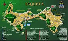 Mapa de Paquetá