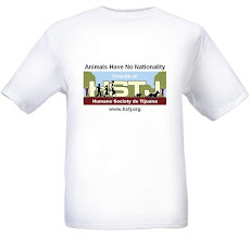 """Animals Have No Nationality""          T-Shirt - Yours for an $18 Donation - GET ONE TODAY!"