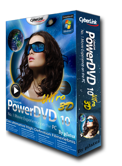 Скачать CyberLink PowerDVD 10 Mark II Ultra 2429.51 RePack by Lisabon беспл