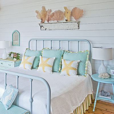Beach theme bedroom pictures