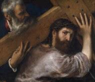 «Jesús y el Cireneo», Tiziano (1560). Museo del Prado. Madrid