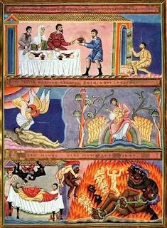Escena de esta parábola tomada del Códice Aureus Epternacensis