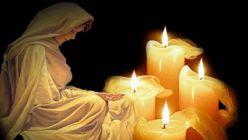 Virgen María velando