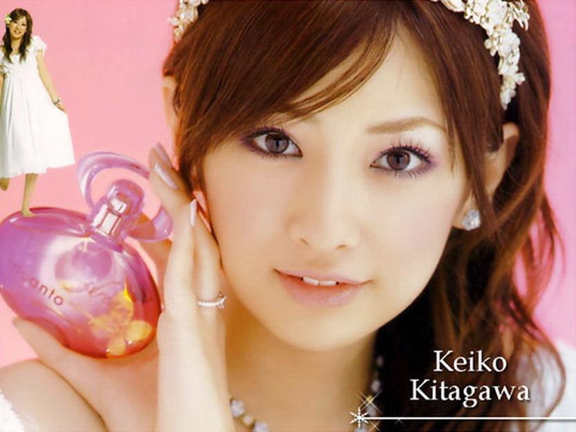 Foto Keiko Kitagawa Artis Jepang Yang Cantik