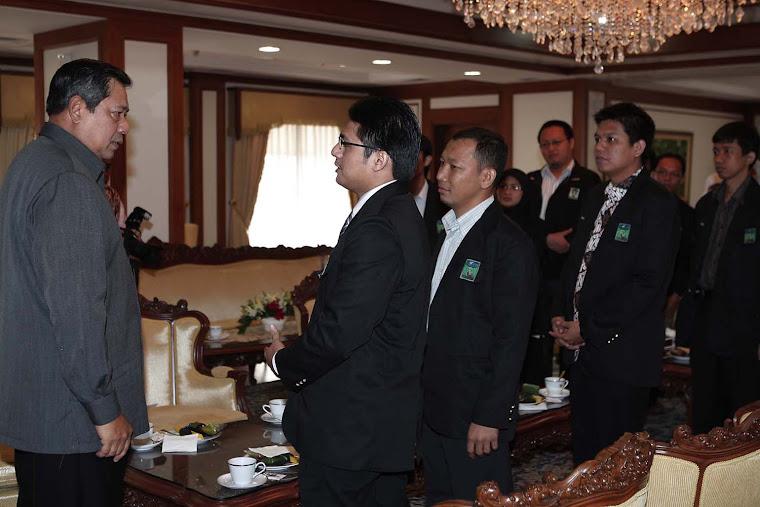 Ariyanto bertemu SBY