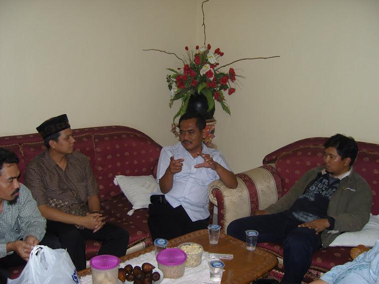 Silaturrahim bersama Ketua PPS Kelurahan Kranji-Bekasi Barat