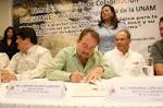 Firman convenio...