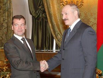встреча Президента Республики Беларусь Александра Григорьевича Лукашенко с гр. Медведевым